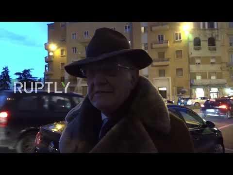 Italy: Macerata residents react to shooting spree