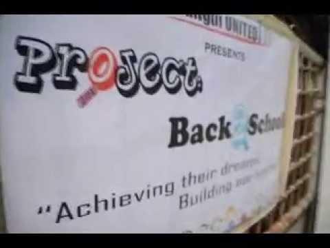 Bangui UNITED: Project:Back2School