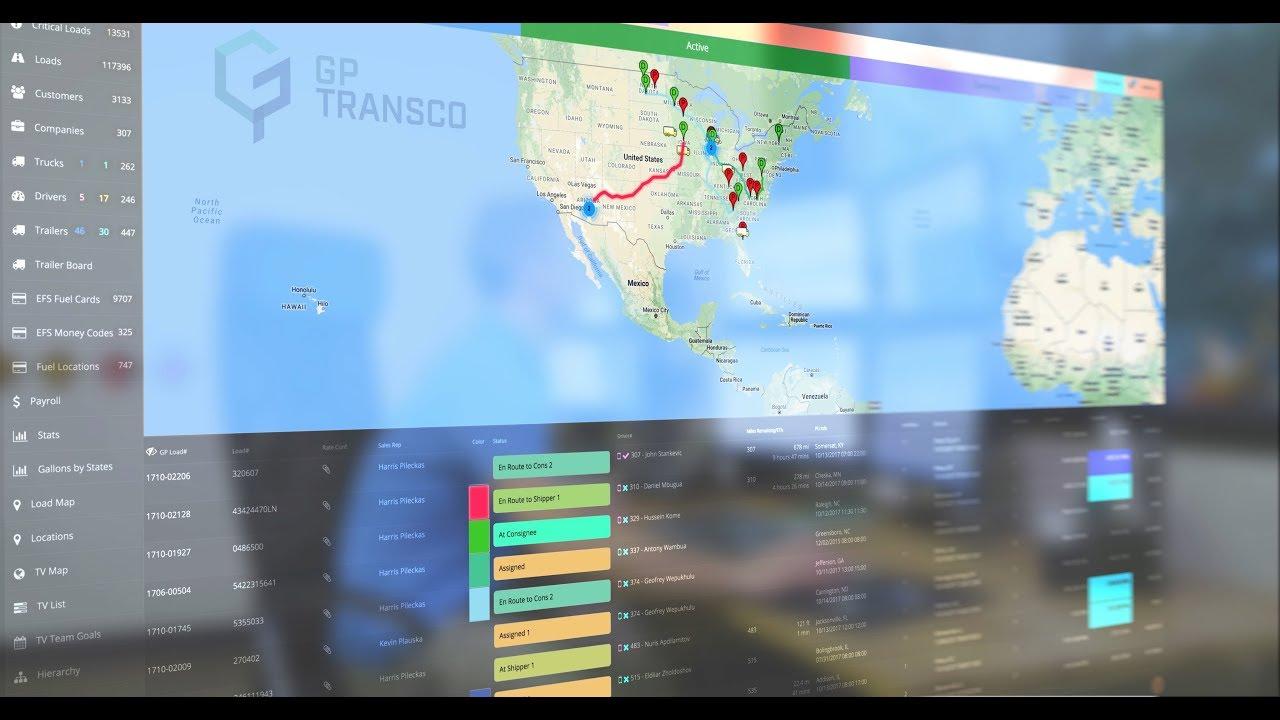 GP TRANSCO | Logistics Company presentation