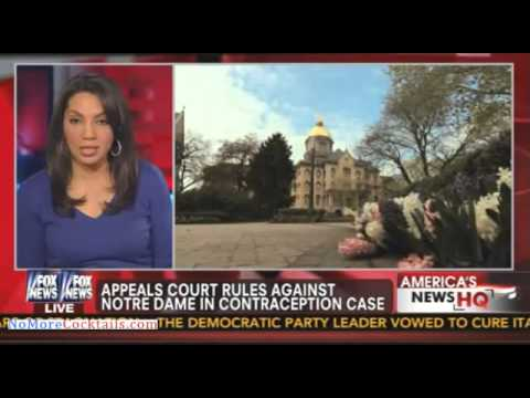 Appeals court rules against Notre Dame in contraception case