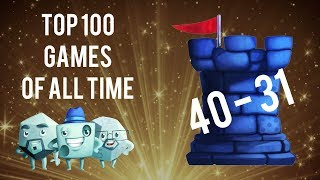 Video Top 100 Games of All Time: #40 - #31 download MP3, 3GP, MP4, WEBM, AVI, FLV Oktober 2017
