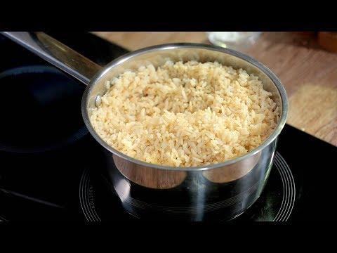 Cum să fierbi orez brun