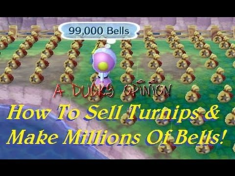 3ds animal crossing how to sell turnips amp make millions