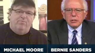 Senator Sanders and Michael Moore