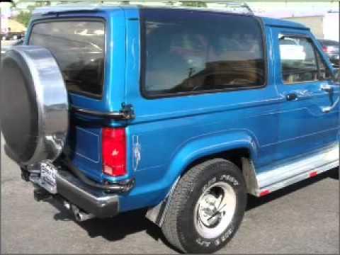 1986 Ford Bronco II - Colorodo Springs Co - YouTube