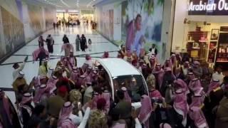 زيارة أمير الرياض لفرع العربية للعود في حوطة بني تميم