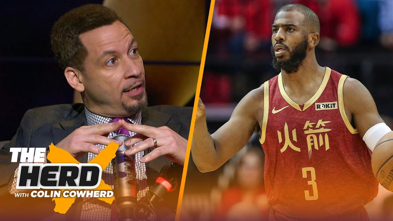 Chris Broussard says Rockets are biggest threat to Warriors, talks Lakers struggles | NBA | THE HERD