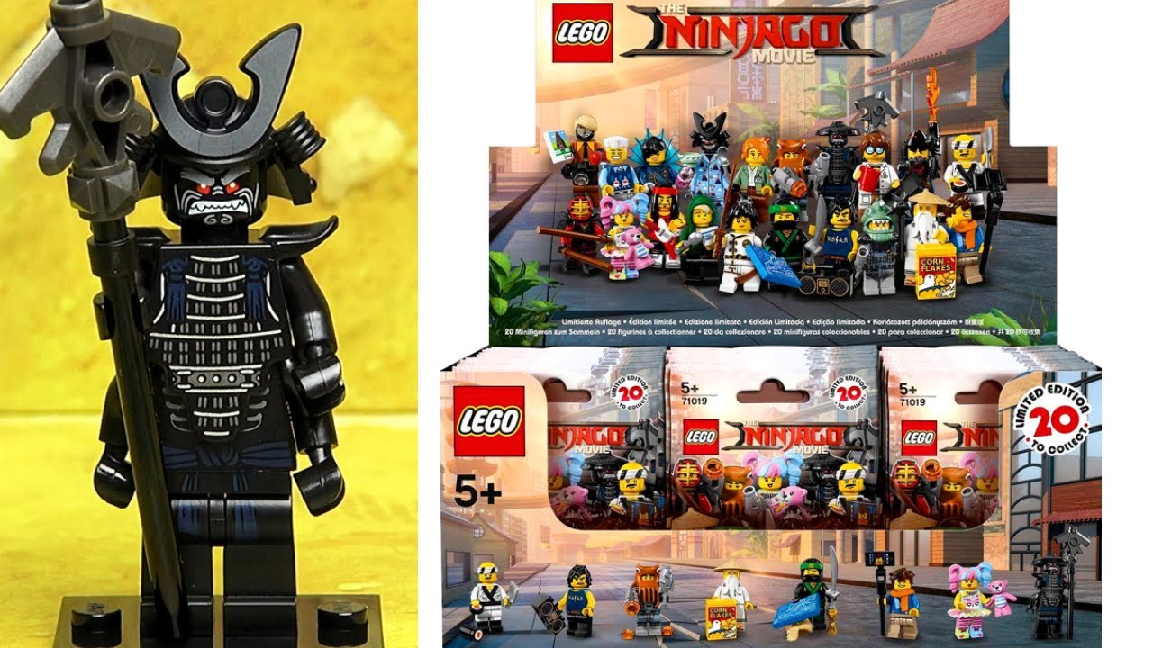 Лего Ниндзяго Фильм минифигурки Обзор LEGO Ninjago Movie ...