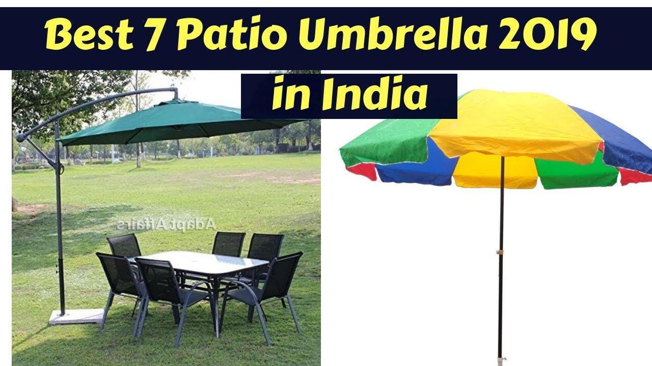 Garden Patio Umbrella In India 2020