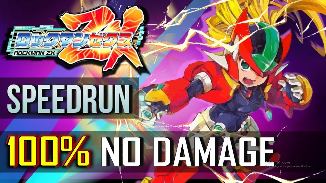 Megaman ZX - 100% No Damage Completion Run
