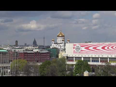 Gorky Park & View from Observation Deck, Garden of Fallen Monuments in Moscow, Russia