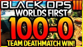 "BLACK OPS 3 - ""FLAWLESS 100-0 TEAM DEATHMATCH WIN"" - WORLDS FIRST ""FLAWLESS TDM"" WIN (BO3 100-0 TDM)"