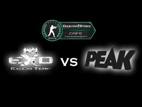 PEAK vs EXODIA Counter-Strike ONLINE Cafe Tournament 2013