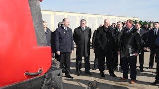 """Лукашенко посетил сельхозпредприятие """"Газовик-Сипаково"""" в агрогородке Добрейка"""