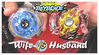 DEEP CHAOS vs LEGEND SPRIGGAN!! Beyblade Burst Battle