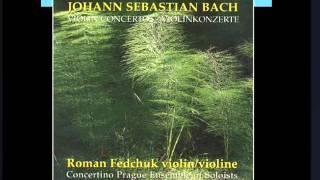 Roman Fedchuk - J.S.Bach - Violin Concerto in G minor BWV 1056