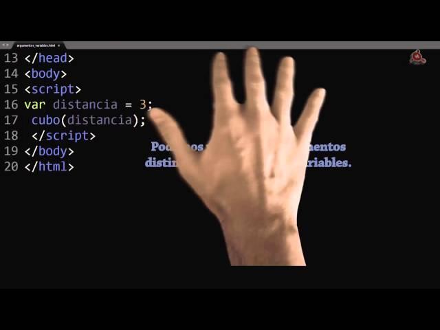 13.- Curso de JavaScript para principiantes. Pasar argumentos a funciones.