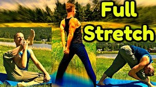 Flexibility Stretches for the Entire Body - 20 Min Yoga for Runners & Athletes #yogaforathletes