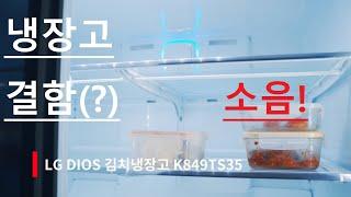 LG DIOS 김치냉장고 K849TS35 소음관련 / …