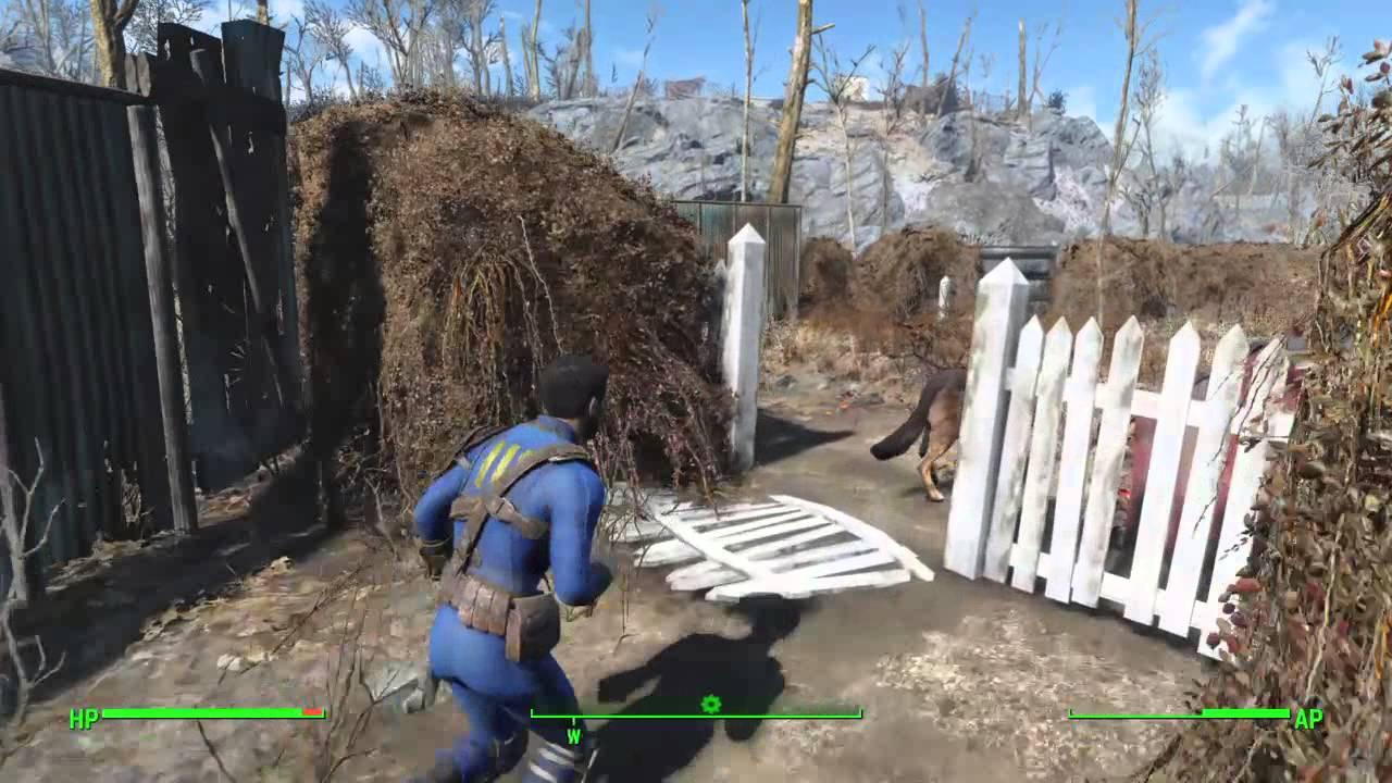 Fallout 4 Sanctuary Perimeter Wall & Defense