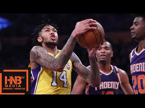 Los Angeles Lakers vs Phoenix Suns Full Game Highlights / Feb 6 / 2017-18 NBA Season