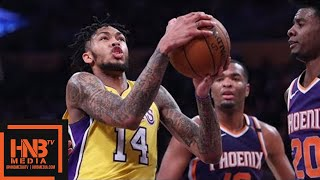 Los Angeles Lakers vs Phoenix Suns Full Game Highlights / Feb 6 / 2017-18 NBA Season