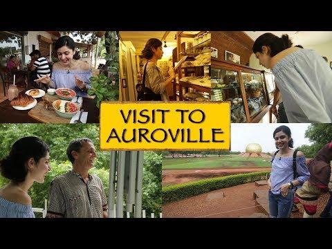 Visit To Auroville || Puducherry