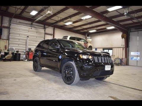 Jeep Cherokee Altitude >> 2018 Brillant Black Jeep Grand Cherokee Altitude SJ6427 ...