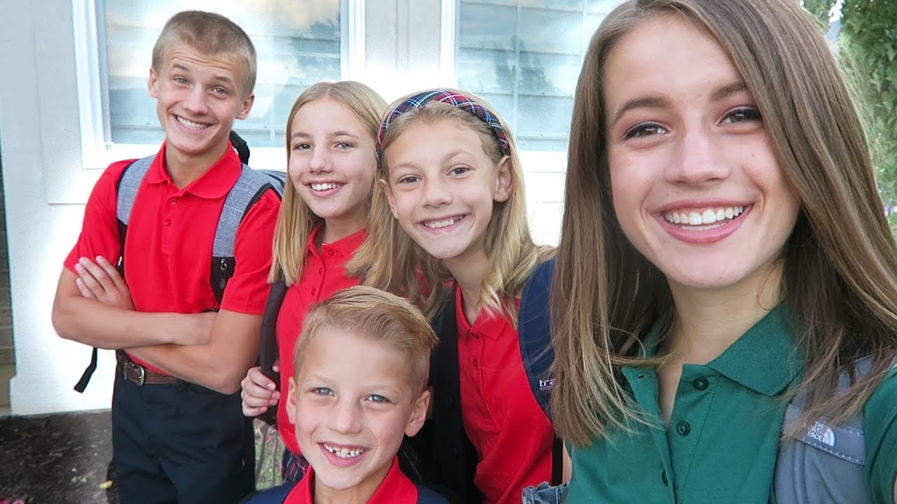 Vlogging The First Day Of School