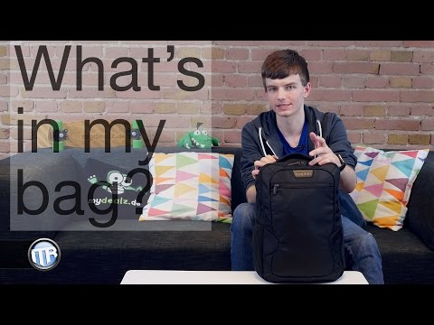 What's in my bag? IFA 2015 Spezial - 4k