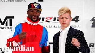 'I can do it all': Floyd Mayweather to fight kickboxer Tenshin Nasukawa