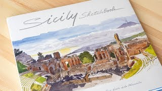 Book Review: Sicily Sketchbook by Fabrice Moireau