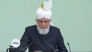 Hazrat Khalifatul Masih V (aba) calls for Palestinian rights during Eid Sermon
