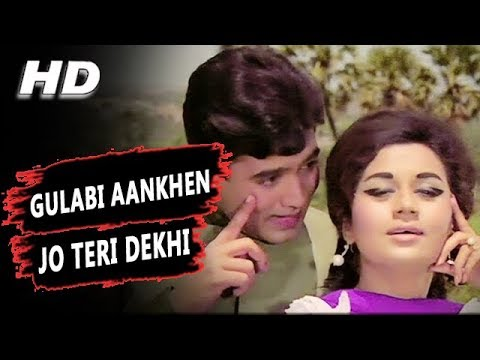 Gulabi Aankhen Jo Teri Dekhi Original Version Mohammed Rafi  The Train 1970 Songs  Rajesh Khanna