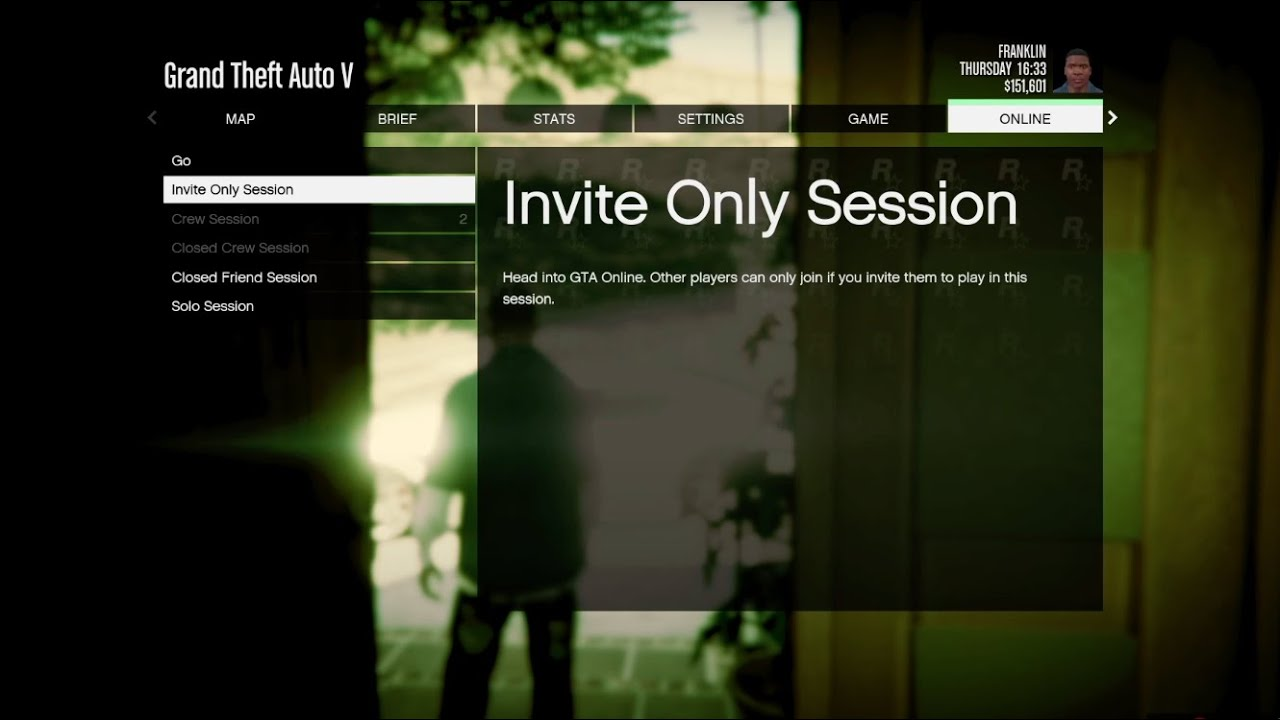 How play solo in GTA Online by setting up Invite Only Session