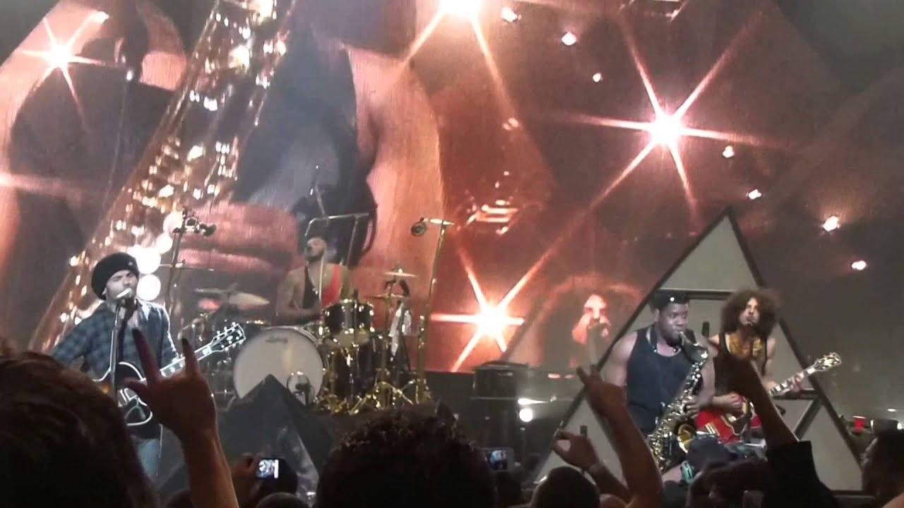 Let Love Rule -  Lenny Kravitz. The Fillmore, Miami Beach, FL. Feb. 2012.