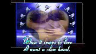 slow hand the pointer sisters for my pretty lady evea lyrics on screen