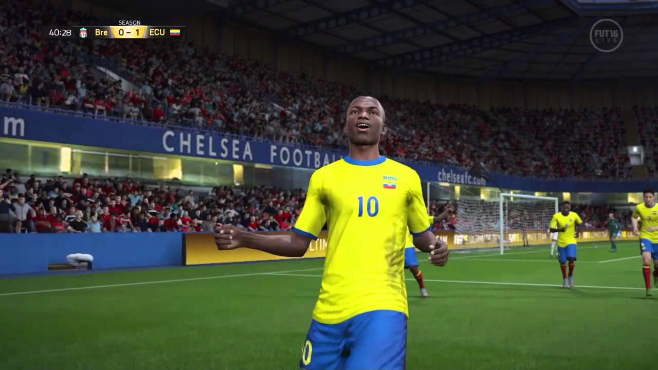 Gooooolazo de Chilena Enner Valencia FIFA 16 Ultimate Team