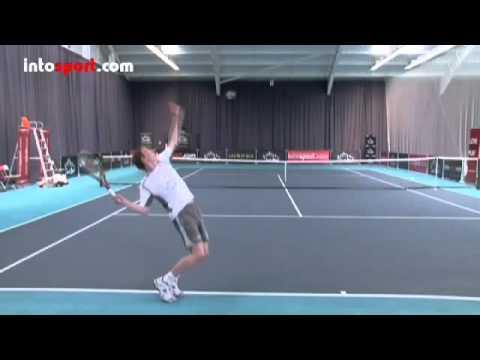 Kỳ thuật giao bóng TopSpin _ yếu tố ổn định _ HLV Vũ Đình Tuấn tennis Ukraine