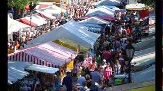 Kesämarkkinat Kristiinankaupungissa - Sommarmarknad i Kristinestad