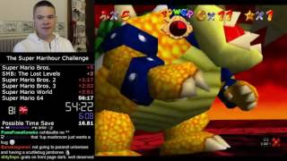 (9:57) Super Mario 64 - 1 Star speedrun