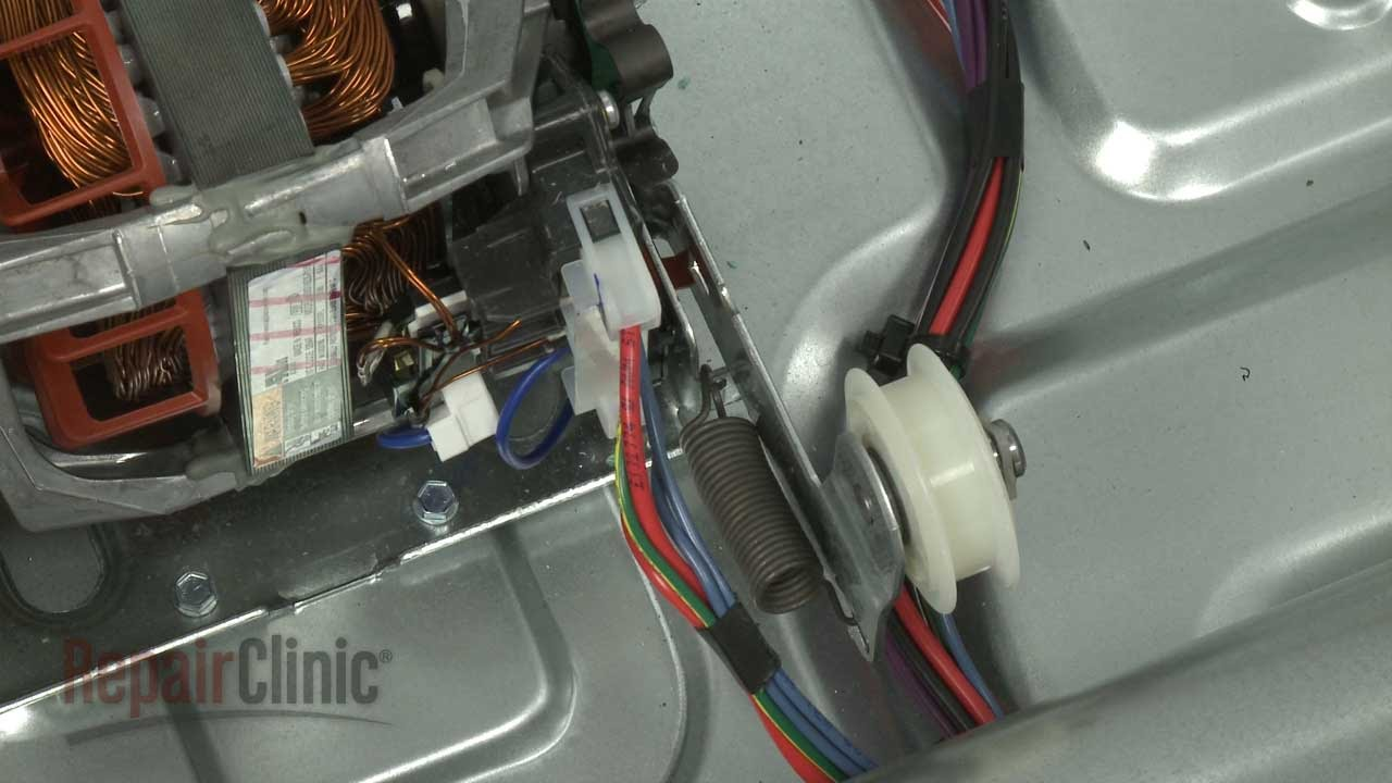 How To Replace A Whirlpool Electric Dryer Idler Pulley Manual Guide