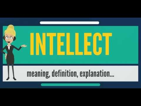 What is INTELLECT? What does INTELLECT mean? INTELLECT meaning, definition & explanation