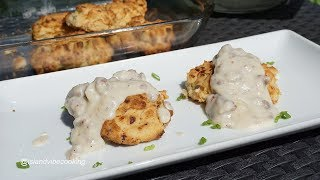 Easy Drop Biscuits Recipe With Sausage Gravy| Must try!