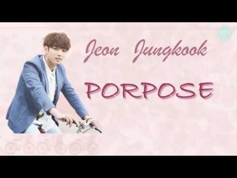Purpose (Cover) - BTS JungKook (정국) Lyric