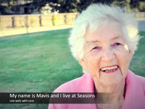 My name is Mavis and I live at Seasons