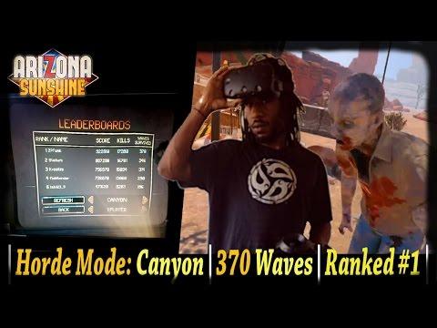 Arizona Sunshine | Horde Mode (Canyon) Wave 370 #1 Rank