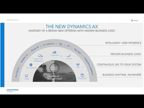 Introducing the New Microsoft Dynamics AX