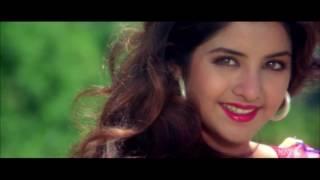 Chahon Tujhe Raat Din (Clear Song) || Shah Rukh Khan & Divya Bharti || Vinod Rathod & Sadhana Sargam