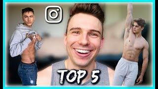 HOTTEST GAY GUYS ON INSTAGRAM 2019 - TOP 5 CRUSHES // CHARLIE CHITTENDEN